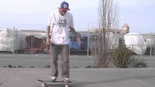Skateboarding Tricks: Nollie 180 Flip