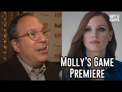 Producer Mark Gordon Interview | Molly's Game Premiere |  TIFF17