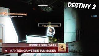 WANTED: GRAVITIDE SUMMONER BOUNTY GUIDE - Destiny 2 Forsaken