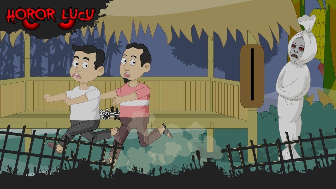 Ronda Malam Pocong Lucu Funny Cartoon Horor Lucu Episode 1