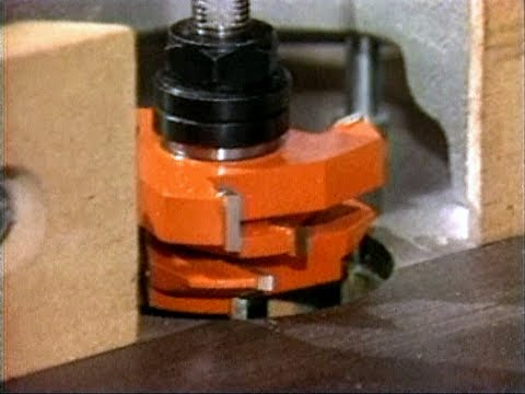 how to use woodworking shaper spindles cutters 2