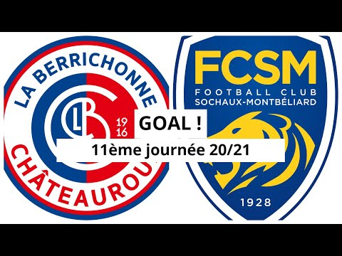 Chateauroux Sochaux Goals And Highlights
