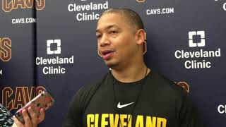 Tyronn lue preps for kyrie irving, not knowing if lebron james will play