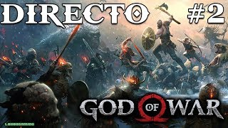 God of War - Directo 2# Español - Desafio - Dioses Nordicos - Explorando al 100% - Ps4 Pro