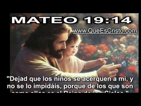 Mateo 19:14 Cristo Jesus en Biblia|Parabola TV Jesus Cristo Mateo 19:14 HD