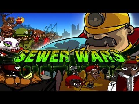 Sewer Wars - Universal - HD Gameplay Trailer