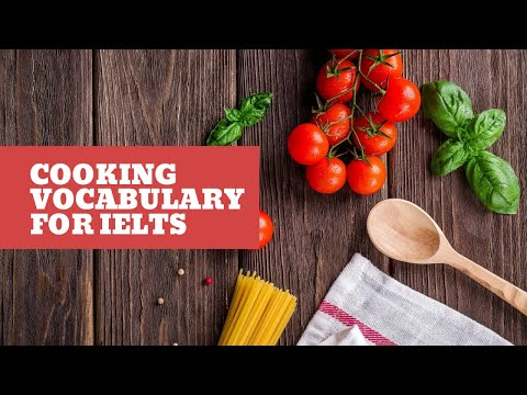 IELTS Speaking Topic: Cooking - TED IELTS