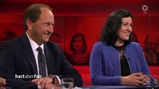 Bundestagswahl 2017: Die gerupfte Kanzlerin - u.a mit Prof. Werner Patzelt | Hart aber fair 25.09.17