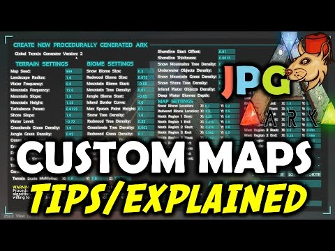 ARK Procedurally Generated Maps: Tips/Info Are They Worth It?