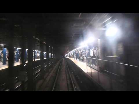 R32 (A) Train from 80th Street Hudson Street to 125th/CentralPark West