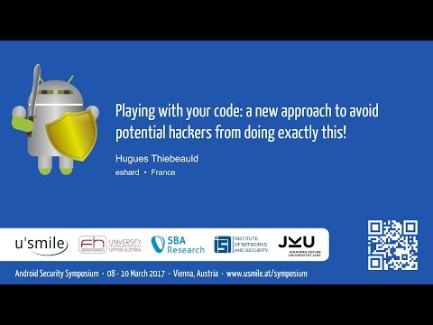 Playing with your code: a new approach to avoid potential hackers from ... (by Hugues Thiebeauld)