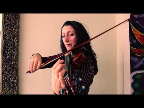 sound test of 5 STRINGS acoustic & eletric violin by VIOLINNA