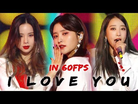 60FPS 1080P | EXID - I Love You, 이엑스아이디 - 알러뷰 Show Music Core 20181201