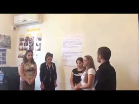 """""""Young Activist"""" Project: Workshop in Akhaltsikhe - 6"""
