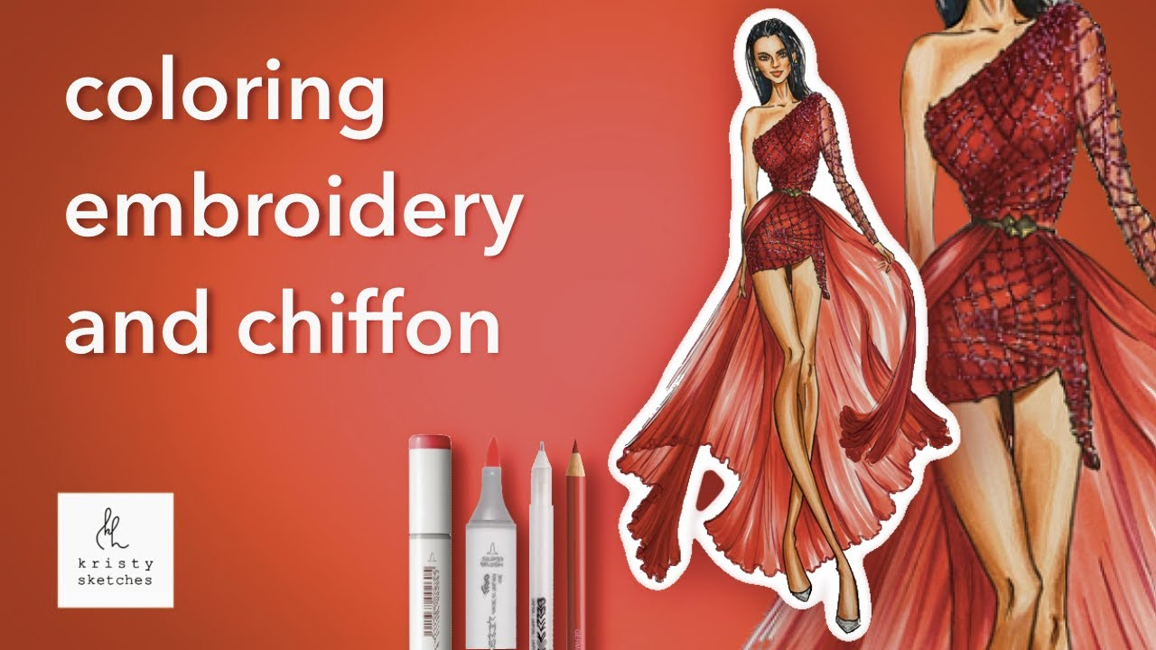 Drawing Fashion Sketches Dresses
