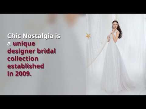 Chic Nostalgia at Bridalxoxo - Las Vegas Wedding Gowns - YouTube