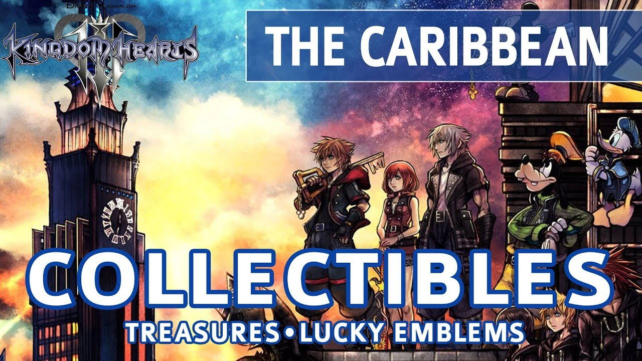 Kingdom Hearts 3 The Caribbean Collectible Locations Treasures