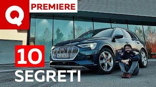 e-tron: 10 segreti che non sapevi sulla prima elettrica di Audi