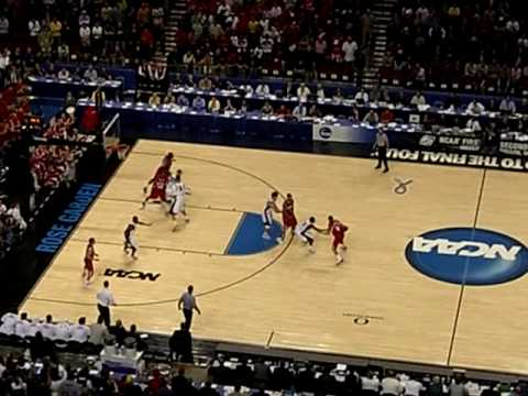 Gonzaga vs Western Kentucky Buzzer Beater 2009 NCAA Tournament Portland