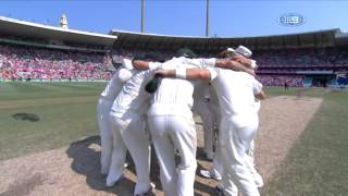 Australian Cricket Team Song - 5th Test, Ashes 2013/14