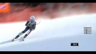 Alpine Skiing World Cup 2016.Garmisch-Partenkirchen: Women's Downhill. Nadia Fanchini