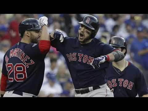 Red Sox beat Dodgers 5-1, win World Series 4-1