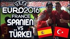 EURO 2016 SPANIEN - TÜRKEI 3-0 ABNORMAL GEILE STIMMUNG IN NIZZA! EM FEELING PUR! PMTV