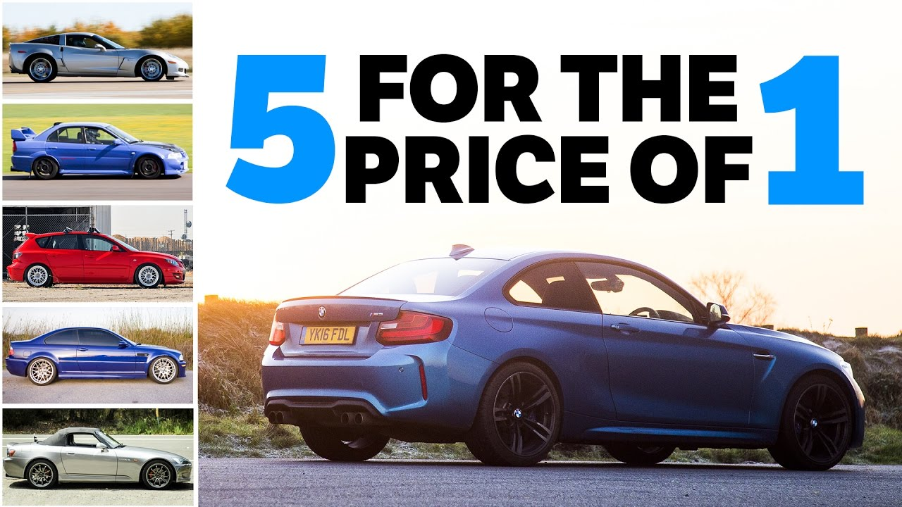 5 Awesome Used Cars You Can Buy For The Price Of A Single BMW M2 ...