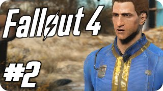 Fallout 4 Walkthouh Part 2 - Welcome To HELL!! (Gameplay 60fps)