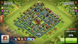 BM028 Balloons and Minions Strategy against champion level opponent - Clash of Clans CoC