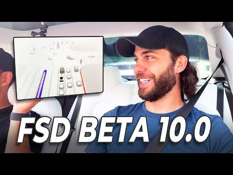 Tesla FSD Beta 10 - ZERO Interventions First Drive