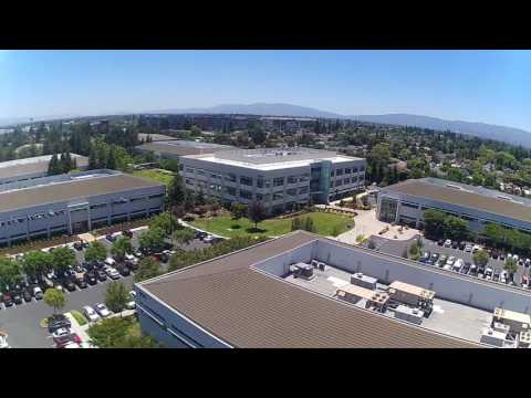 Sunnyvale business park from the air