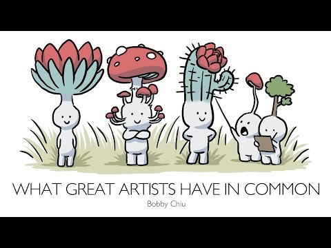 What great artists have in common