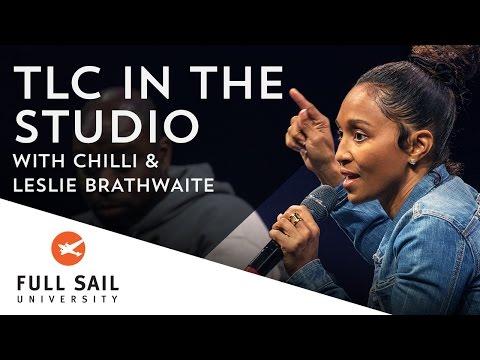 TLC In The Studio, With Chilli And Leslie Brathwaite