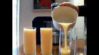 Crenshaw Melon Juice Tastes Amazing
