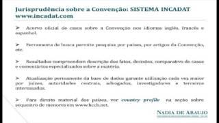 05 Convenção de Haia sobre Aspectos Civis do Sequestro de Menores - Nadia de Araujo
