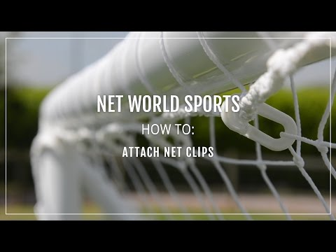How To: Attach Net Clips | Net World Sports