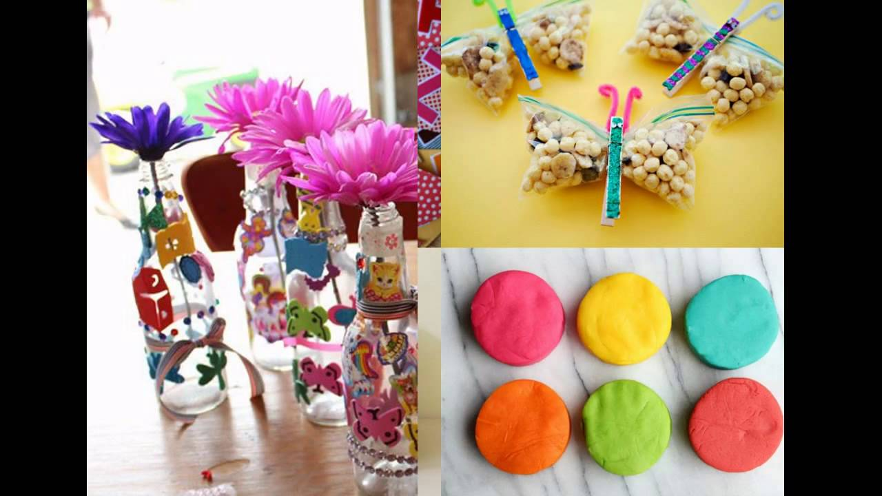 Kids birthday party ideas at home - YouTube