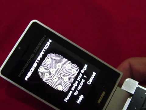 PORSCHE DESIGN P'9521 fingerprint test