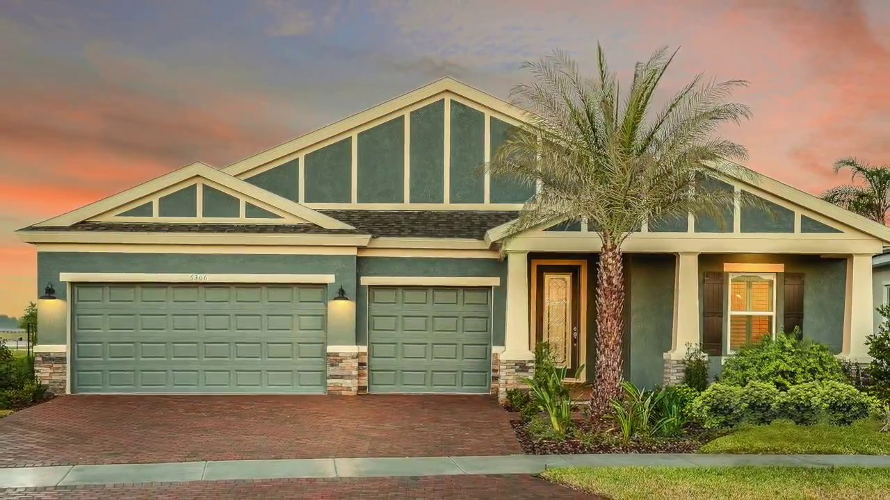 New Homes In Apollo Beach Fl At Waterset Youtube