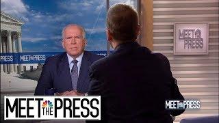 Full Brennan: Republican Senators Are 'Running Scared' | Meet The Press | NBC News