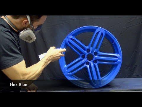 Flex Blue, Black Cherry, Black and Blue Plasti Dip