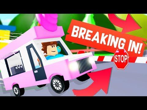 I Found A Secret Ghost Van In Roblox Ice Cream Van Simulator Unlocking The Van And Crossing The Secret Bridge In Ice Cream Van Simulator Youtube