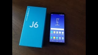 Samsung Galaxy J6 (2018) Unboxing and First Look