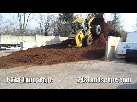 Mulch Delivery Walled Lake MI Landscape Supplies Commerce Michigan Wood Chips West Bloomfield