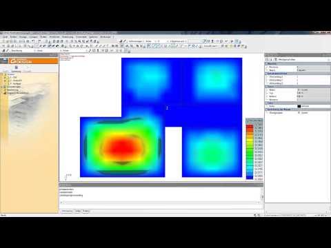 Advance Design Plattenberechnung