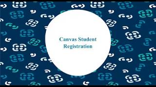Canvas Student Registration
