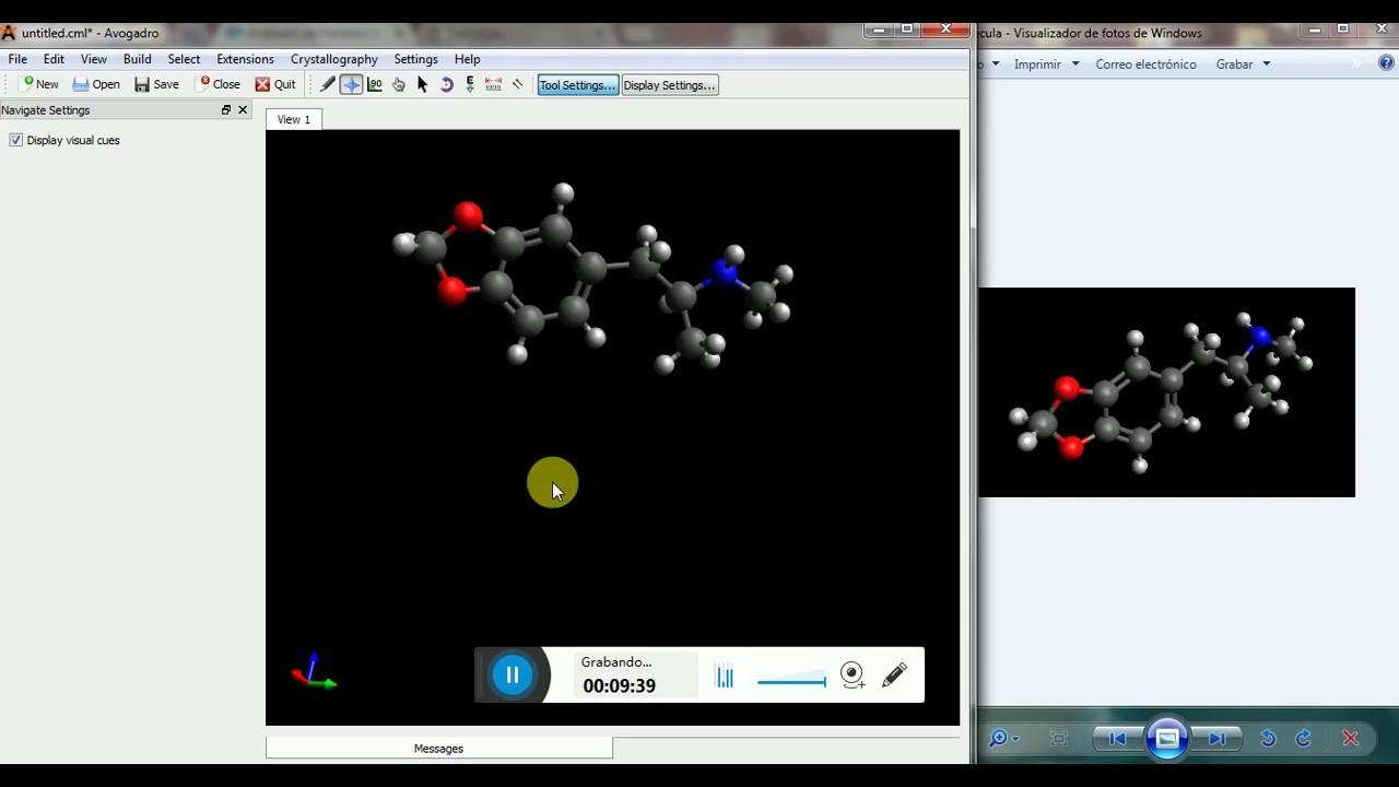 Uso de software avogadro para dise o de mol culas en 3d for Programas para diseno 3d