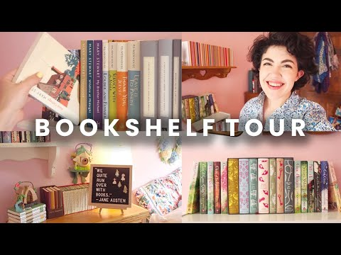 BOOKSHELF TOUR 2020  (lots of classics + jane austen) | BookishPrincess