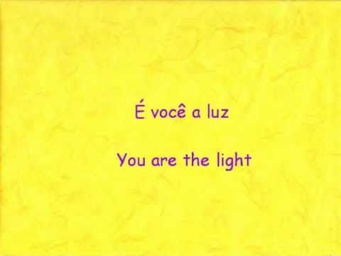Tangled - I See the Light (Brazilian Portuguese + English translation)
